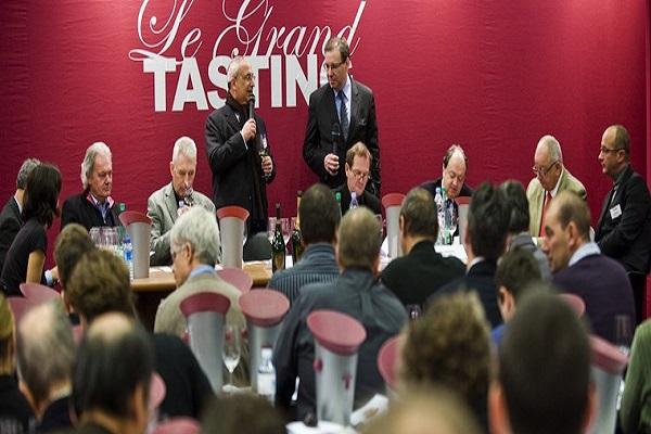 Wine Gathers At Le Grand Tasting