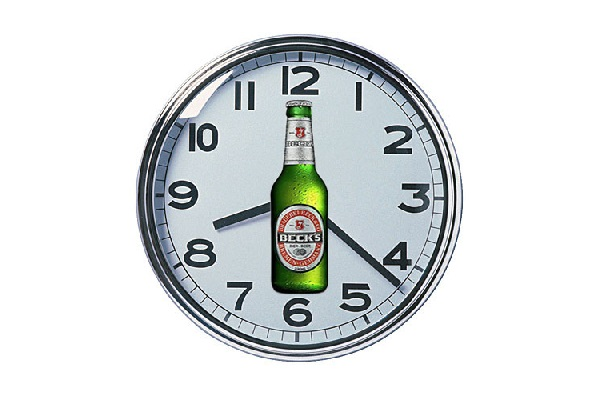 Time Schedule For Alcohol Consumption?