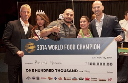 San Diego chef crowned World Food Champion, bags US$100k prize