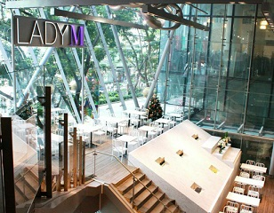 Lady M powers up 3rd store in Singapore