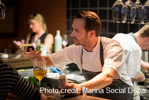 Socialising with Chef Jason Atherton