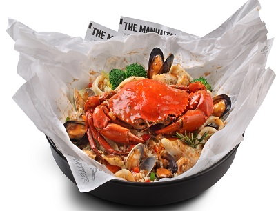 All-new Louisiana Seafood Bomb
