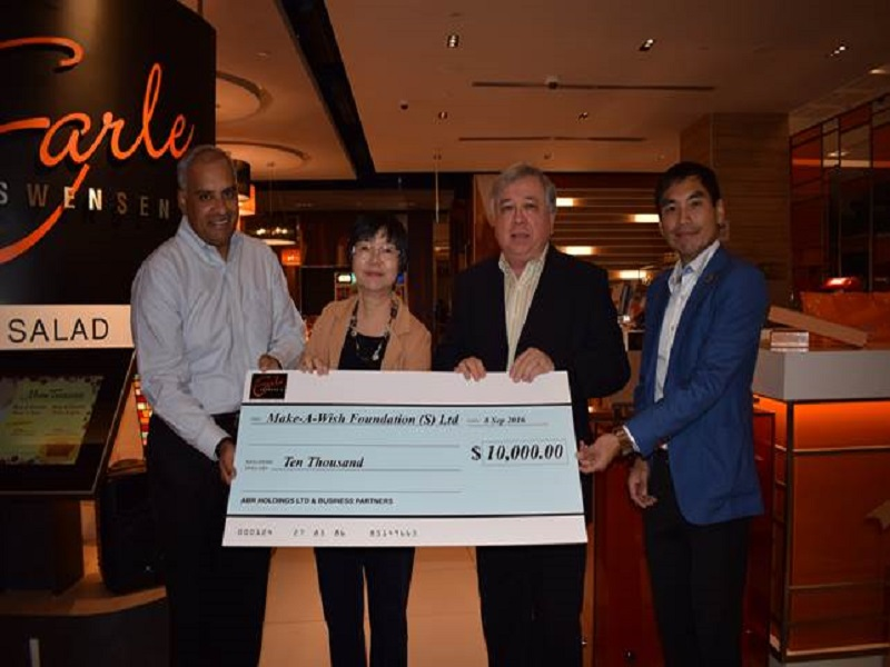 Earle Swensen's and Business Partners donated: $10,000