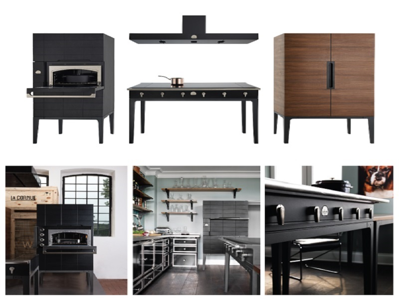 La Cornue revolutionises the traditional fitted kitchen
