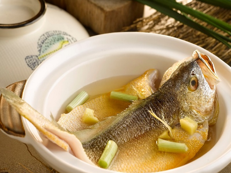 One Michelin Star Restaurant Putien Creates 5 Dishes Featuring A Seasonal Star - The Yellow Croaker Fish
