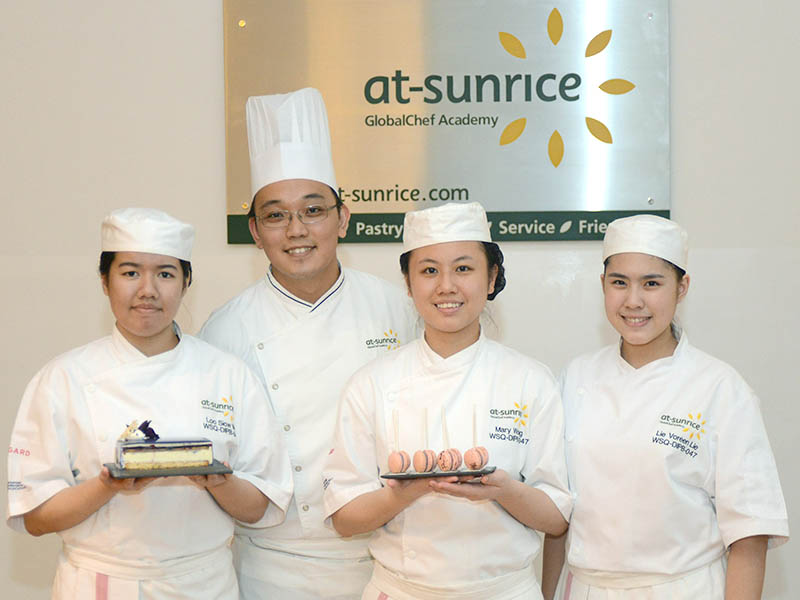 Start your culinary career with At-Sunrice Globalchef Academy!