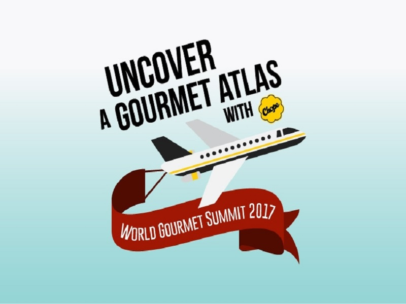 UNcover a Gourmet Atlas with CHOPE!
