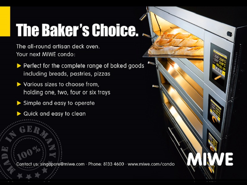 MIWE Presents New All-Purpose Deck Oven