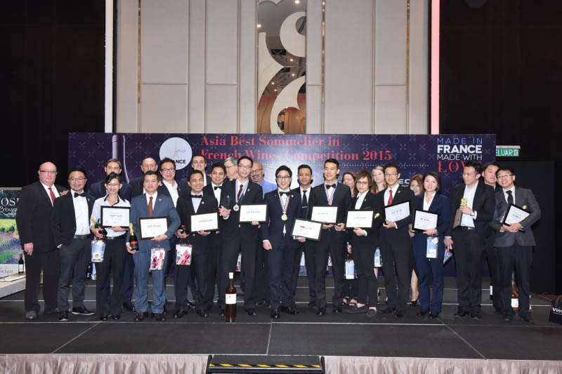 Asia Has Found Its Best Sommelier in French Wines 2015