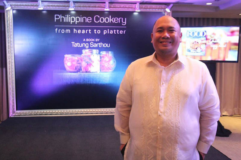 Filipino Chef Tatung Sarthou's First Cookbook Ranks Among Best In the World