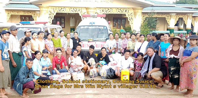 Myanmar Chefs Association Lends A Helping Hand To Bago Flood Victims