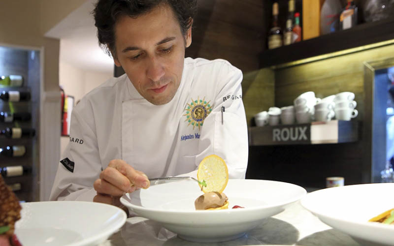 Look Out For Chef Martin Rebaudino at This Year's World Gourmet Summit!