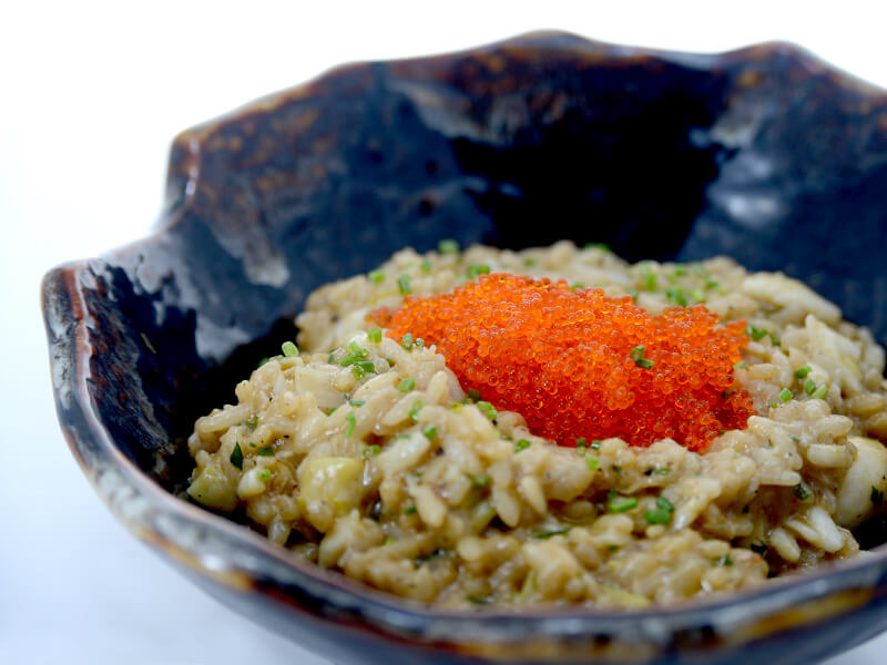 crabmeat risotto